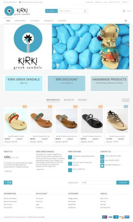 kirkisandals.com
